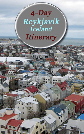 A 4-day itinerary for Reykjavik, Iceland