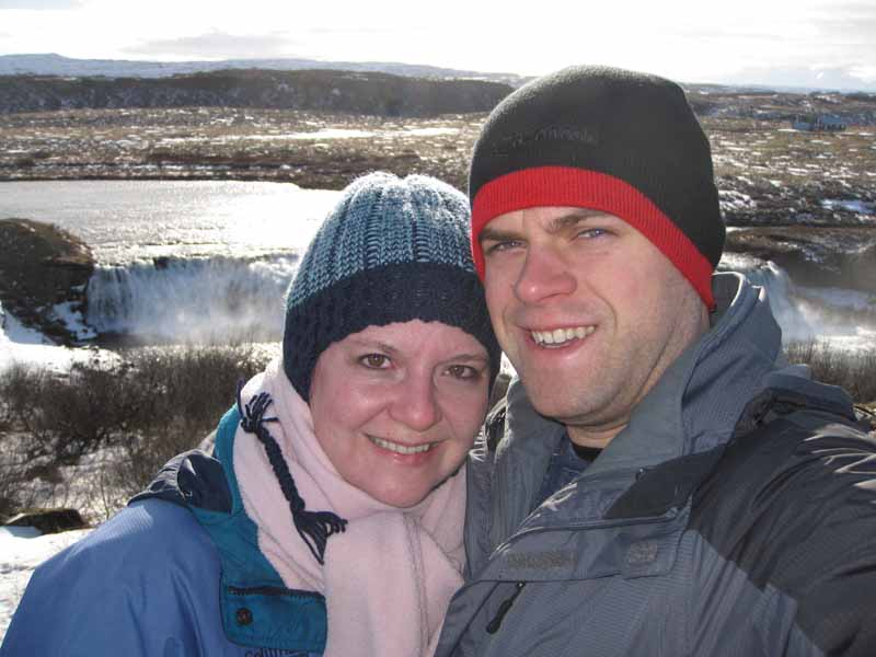 Laura & Nick in Iceland