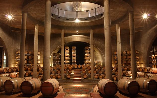 Bodega Salentein in Mendoza Argentina wine country
