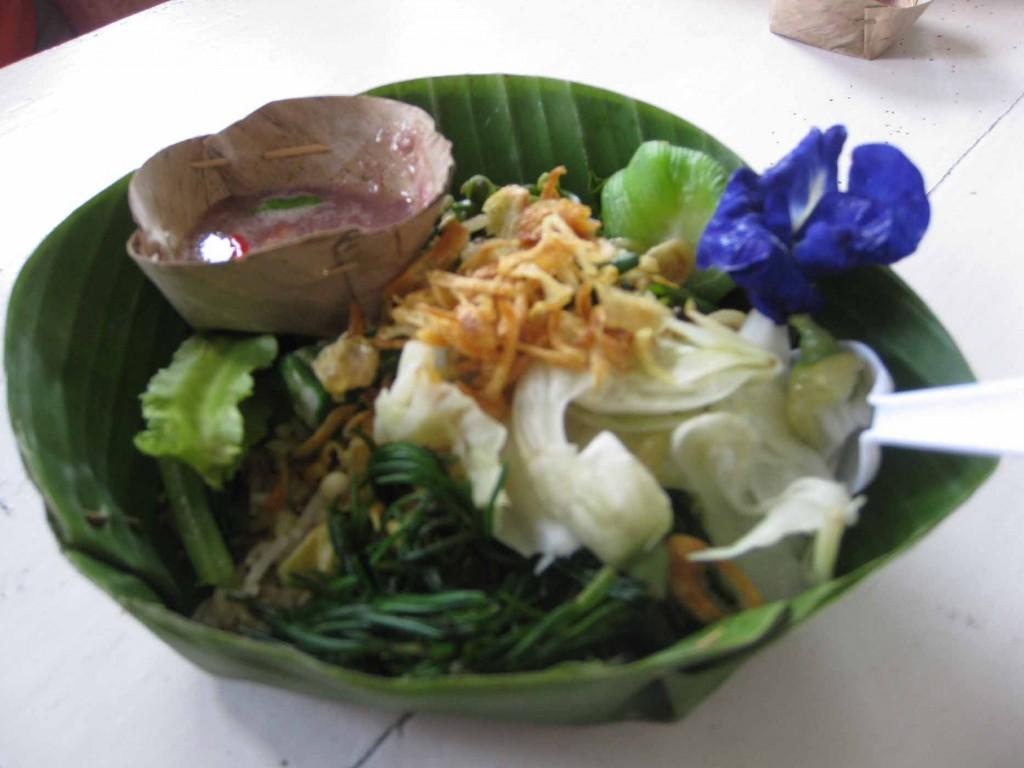 Mackeral salad