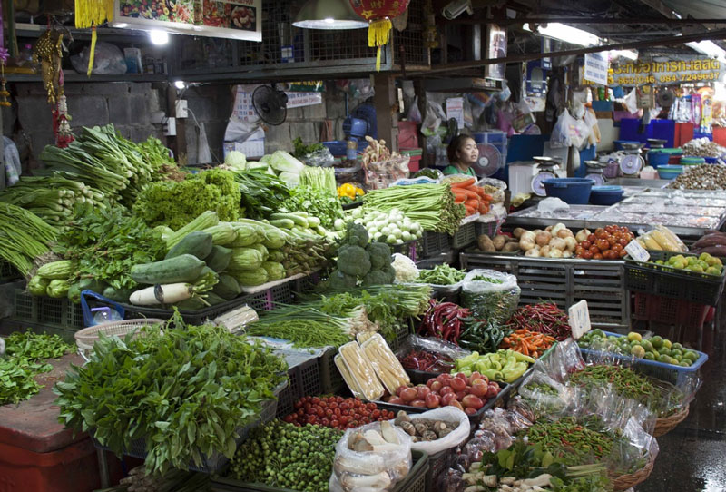 Chiang Mai farmers market