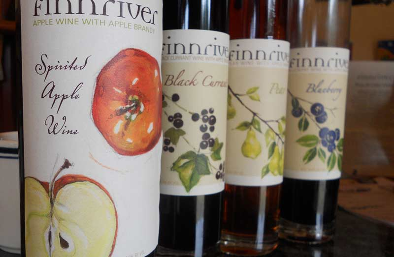 Finneriver's lineup of ciders