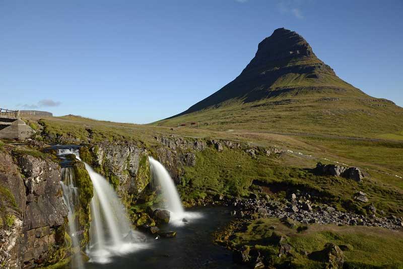Snæfellsnes Waterfall