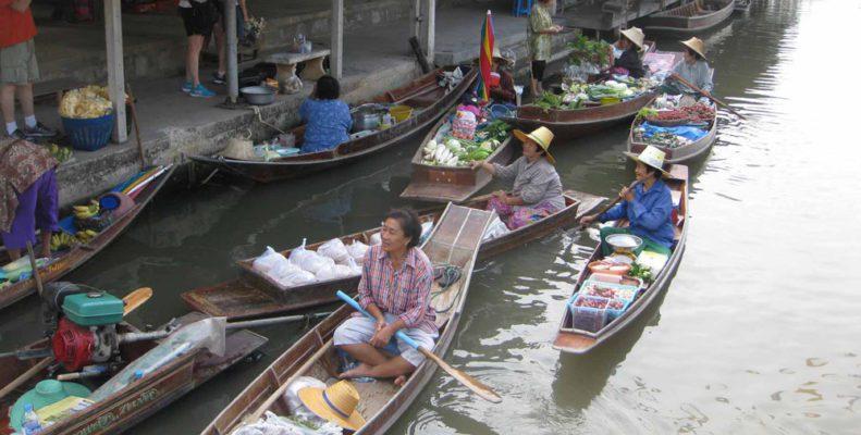 Thailand Floating Markets