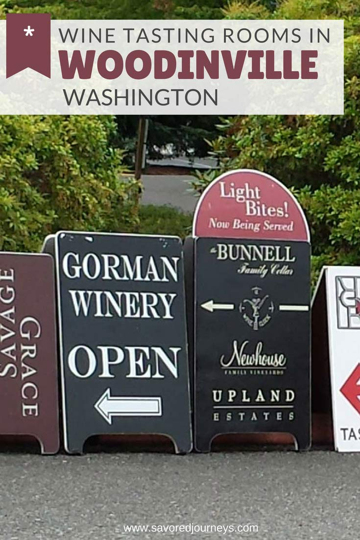Wine Tasting in Woodinville, Washington