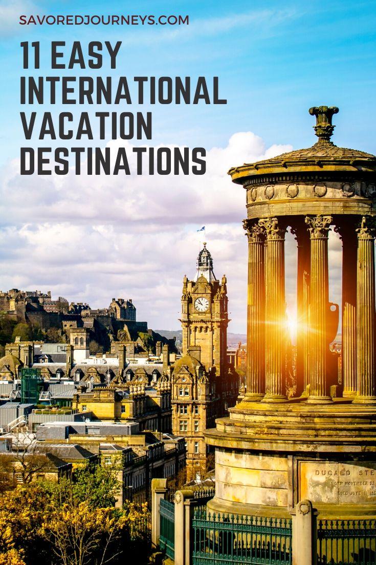 easy international destinations
