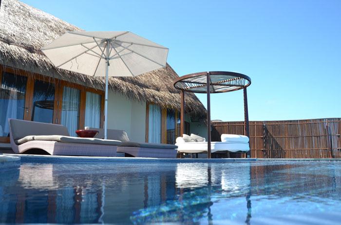 W Maldives bungalow