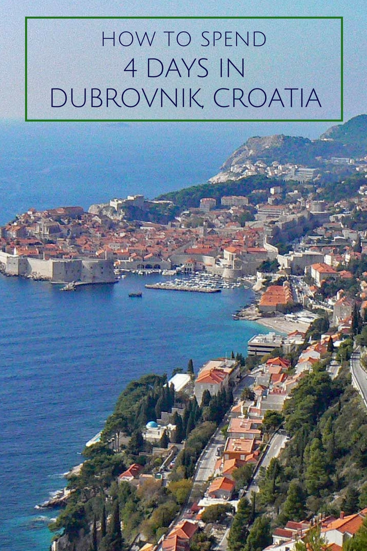 How to spend four days in Dubrovnik Croatia