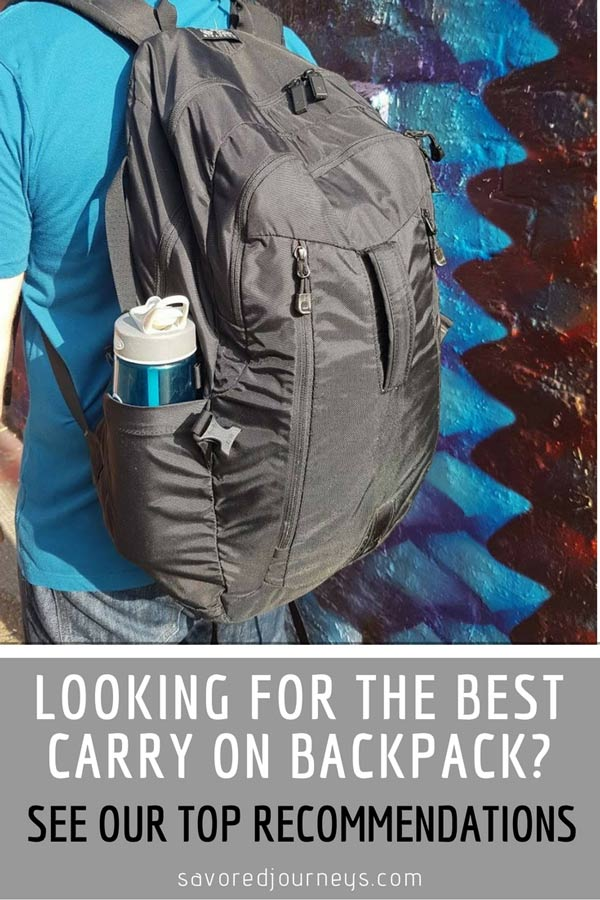 Looking for the best carry on backpack? Check out our top recommendations