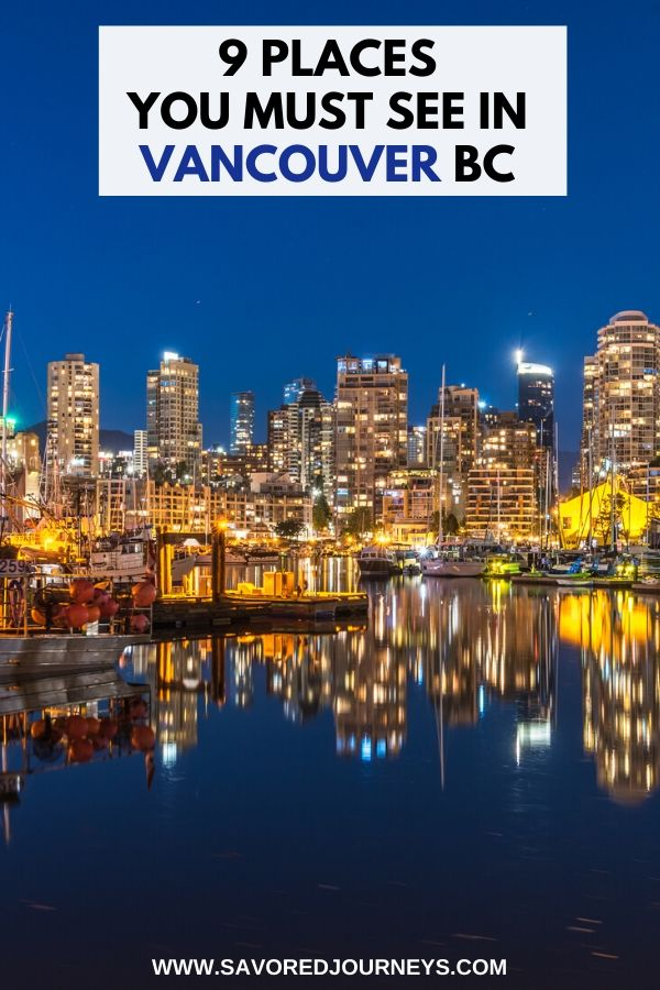 Best Places to Visit in Vancouver Canada