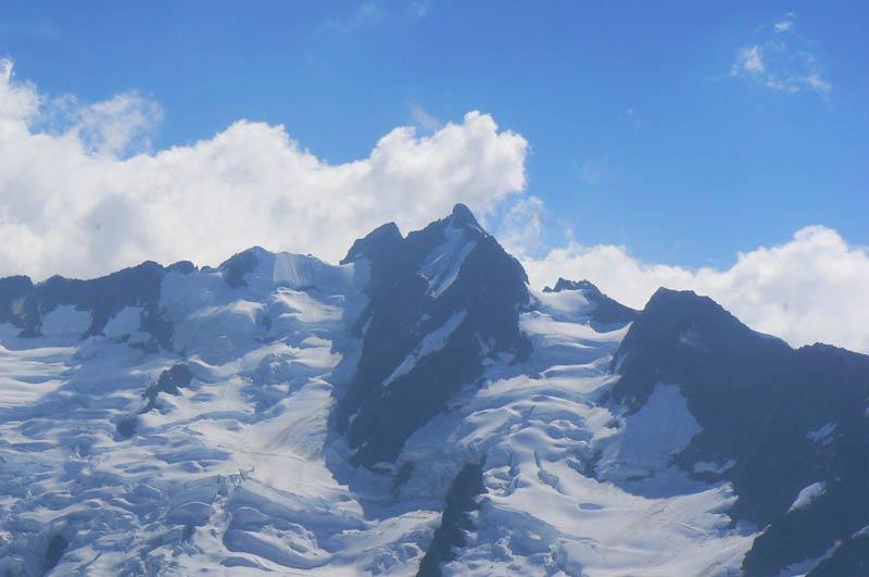 Glaciers in Whistler, Canada