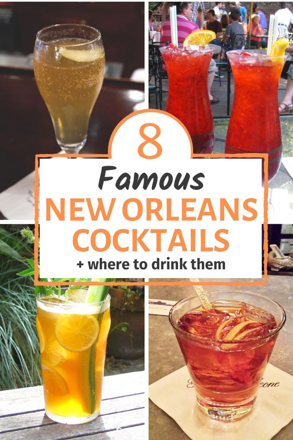 famous new orleans cocktails