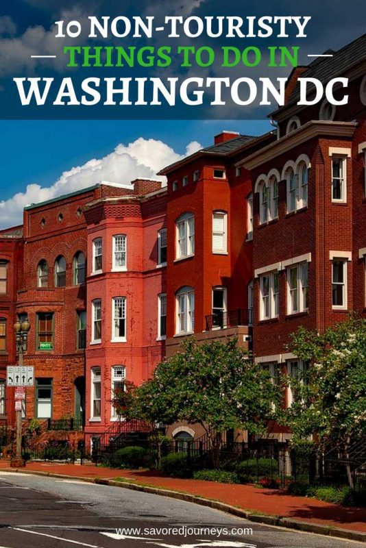 Tired of being a tourist? Check out these 10 non-touristy things to do in Washington DC