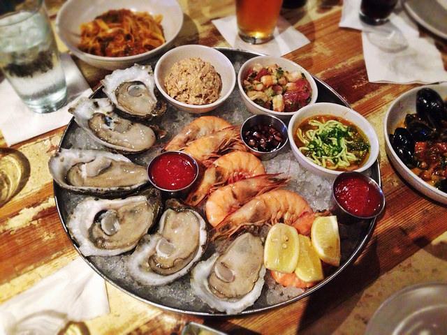Peche Seafood Sampler