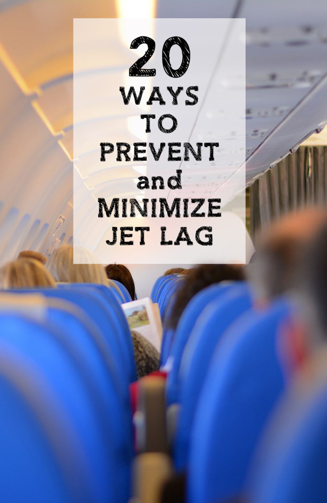 20 Ways to Prevent and Minimize Jetlag