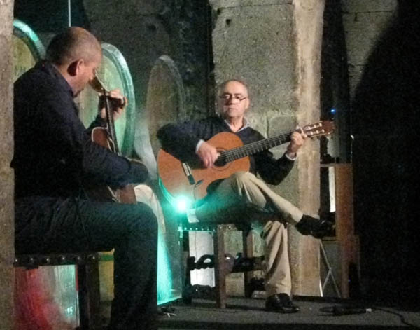 Fado music at Calem Port House