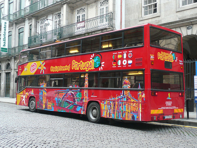 Sightseeing Porto Hop On Hop Off Bus