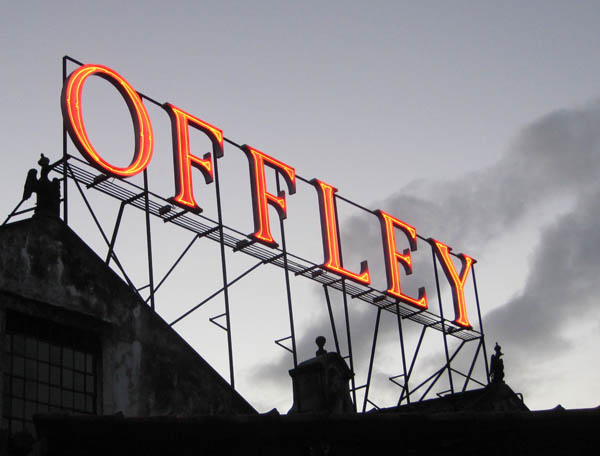 Offley Port House sign