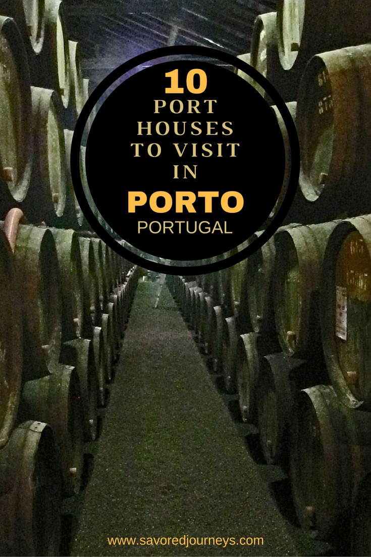 Top Port Houses to Visit in Porto Portugal