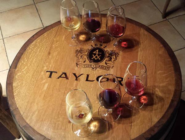 Taylor's Port tasting
