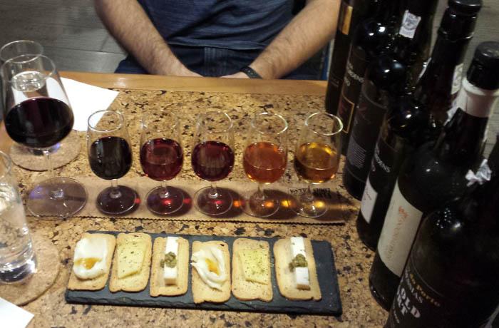 Vinologia wine tasting flight