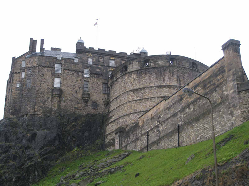 Edinburgh Castle - a top attraction in Edinburgh, Scotland
