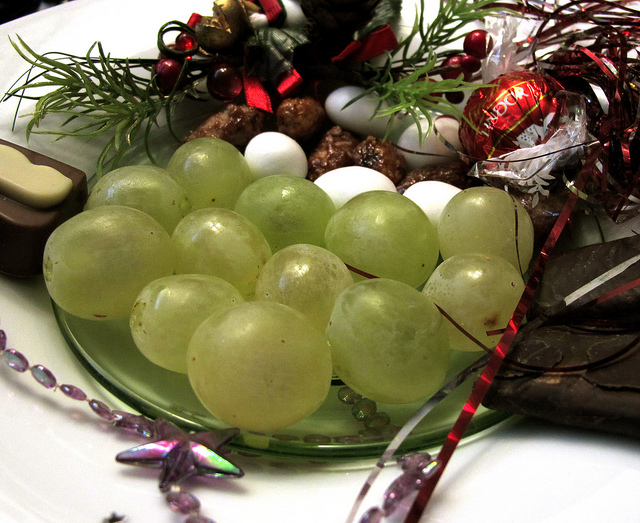 12 Grapes on New Year's Eve
