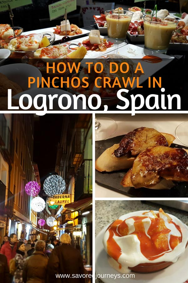 How to do a Pinchos Crawl in Logrono, Spain
