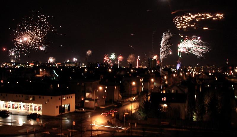 Reykjavik Fireworks