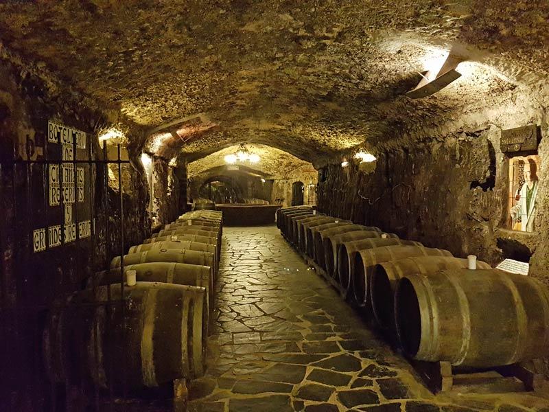 Eguren Ugarte underground cellar
