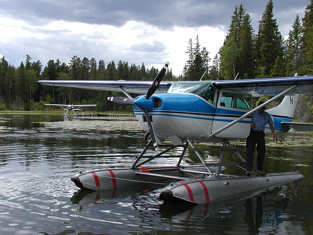 Float planes are ubiquitous in the Pacific Northwest