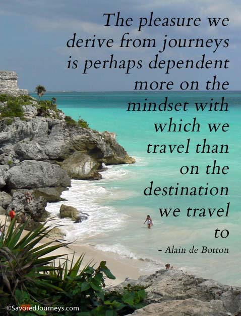 quote about traveling mindset