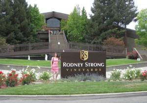 Rodney Strong tasting room in Sonoma Valle