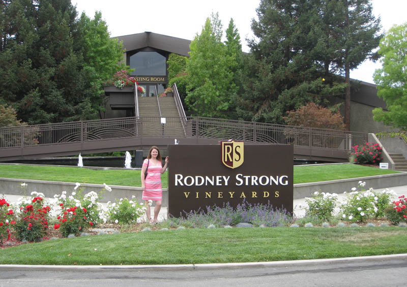 Rodney Strong tasting room in Sonoma Valley