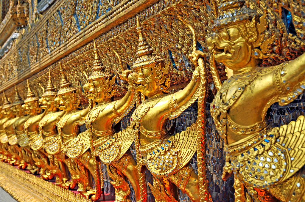 Bangkok Royal Chapel of the Emerald Buddha