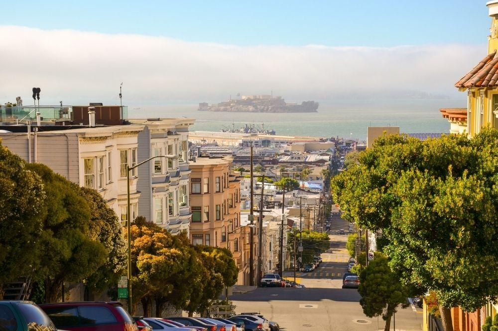 San Francisco Bay and Alcatraz