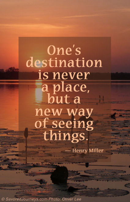 Quote about travel