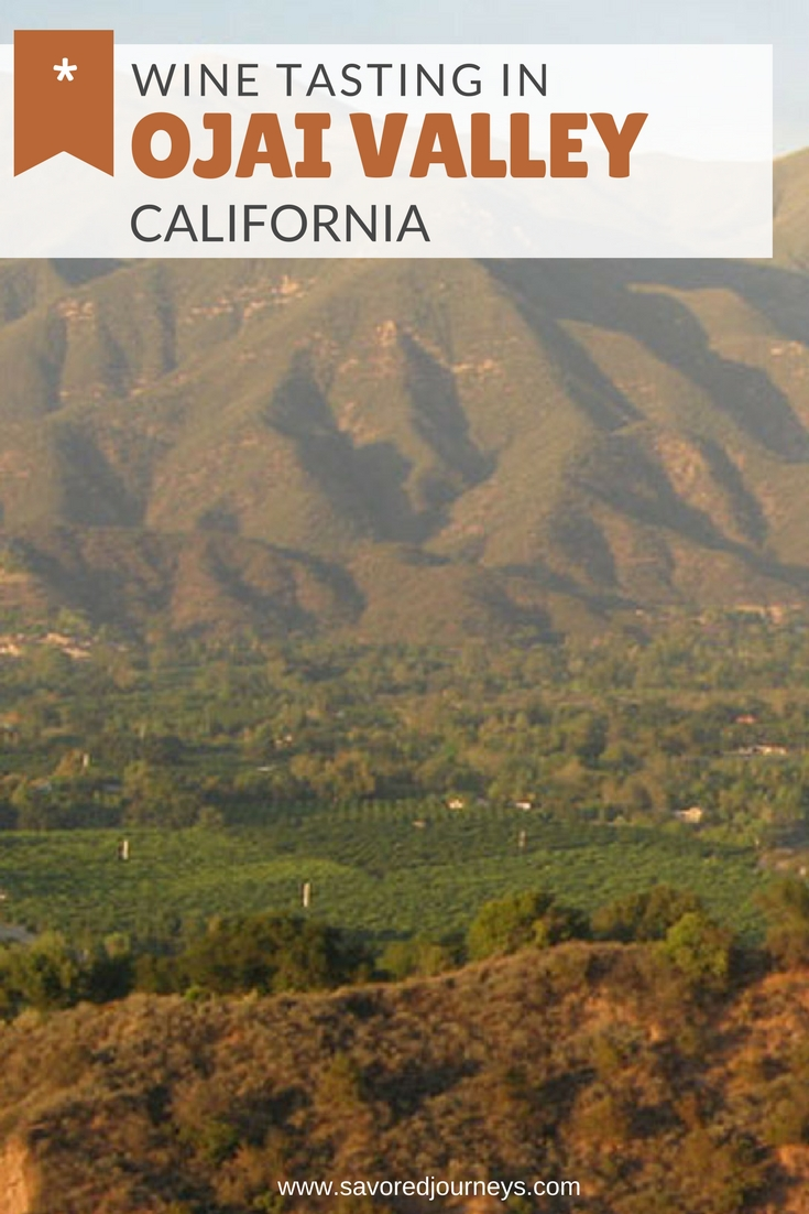 Wine tasting in California's Ojai Wine Region