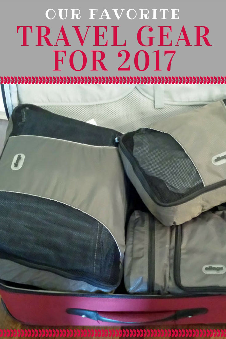 Favorite Travel Gear for 2017