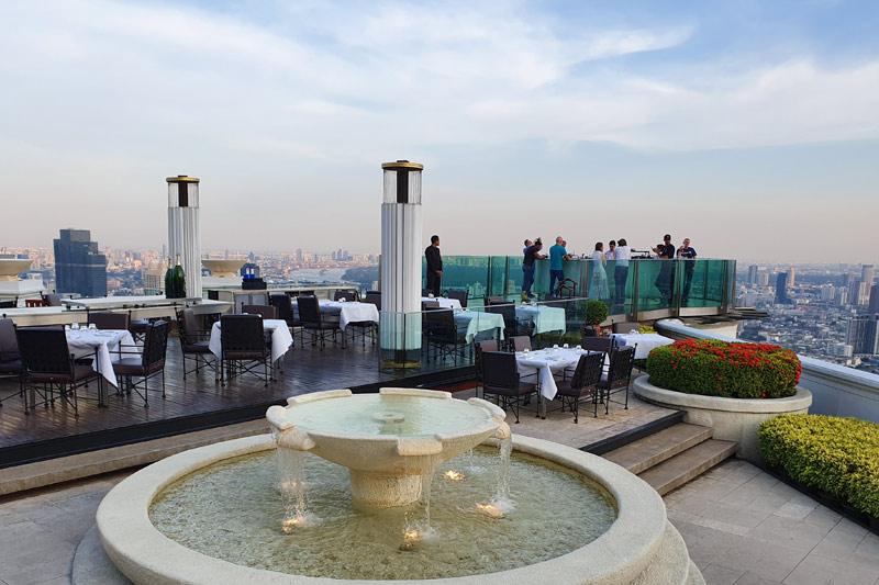 Sky Bar at Lebua Tower