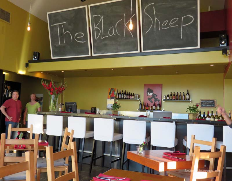 The Black Sheep restaurant in Santa Barbara