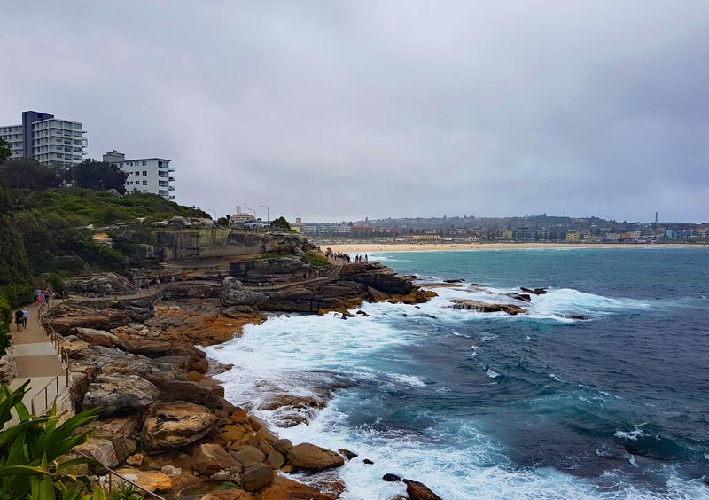 A stop along the Bondi to Coogee Walk