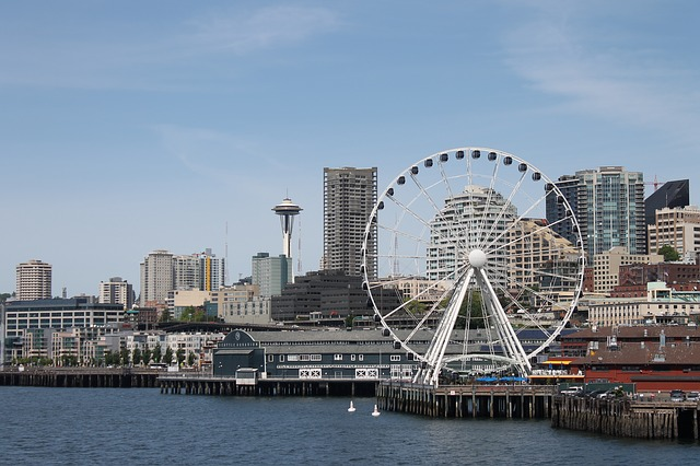 The Great Wheel on Seattle's waterfront