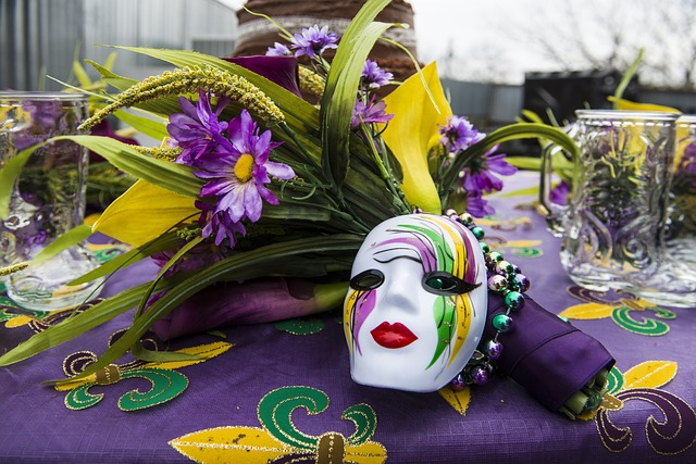 Mardi Gras-Themed Supper Club