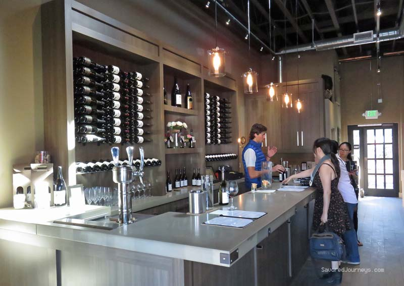 Riverbench Winery tasting room in Santa Barbara