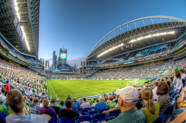 Seattle Sounder's game at CenturyLink Stadium