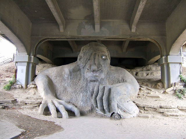 The Fremont Troll