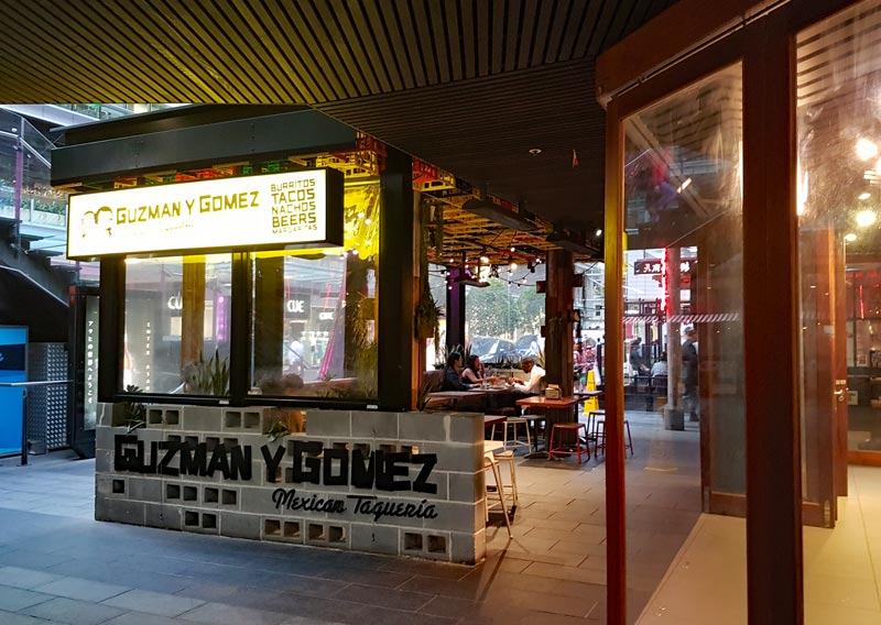 World Square Guzman y Gomez