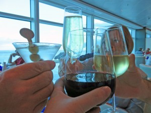 Enjoying wine with dinner is easy with the premium package