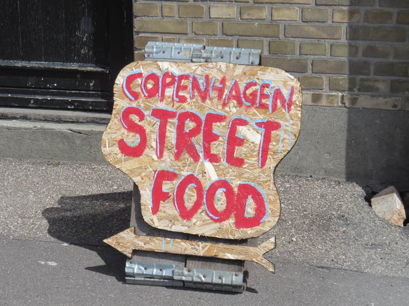 Copenhagen Street Food signs